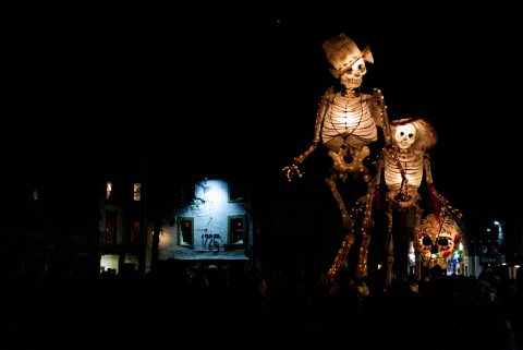A reminder of the amazing lanterns which paraded through the city centre during Light Up Lancaster 2013