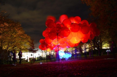 When the Red Rose in Lancaster by Steve Messam - 2016