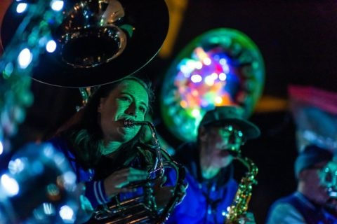 2018 Turn the Big Light On by More Music and David Boultbee from Bread Art Collective. Photographer Credit Robin Zahler