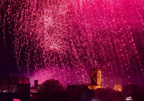 Fireworks Spectacular at Light Up Lancaster 2019 Credit Robin Zahler